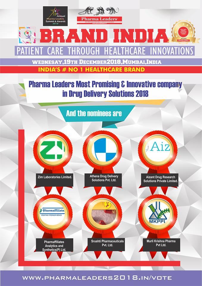 PHARMA LEADERS POWER BRAND – Asia's Most Prestigious Awards